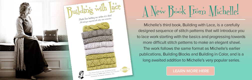 Michelle's book Building With Lace