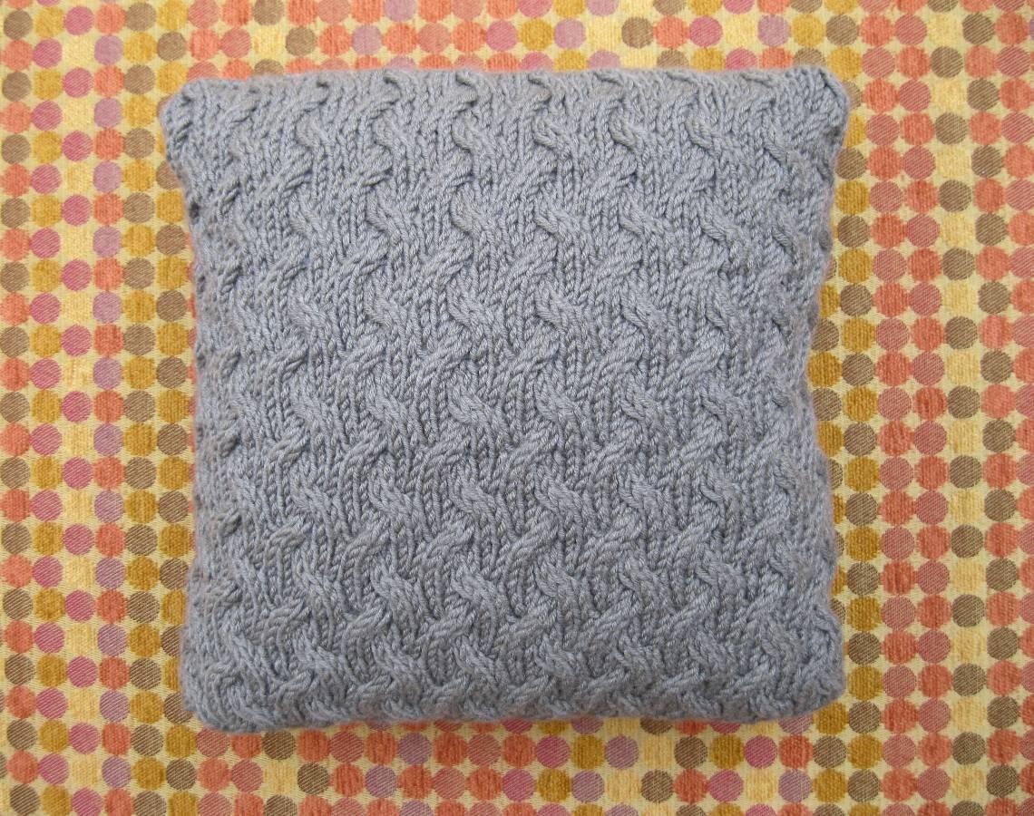 Independence Pillow   Part 4   Knit Purl Hunter KAL